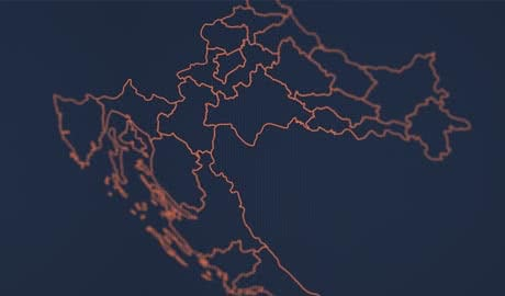 D3.js: Map of Croatia