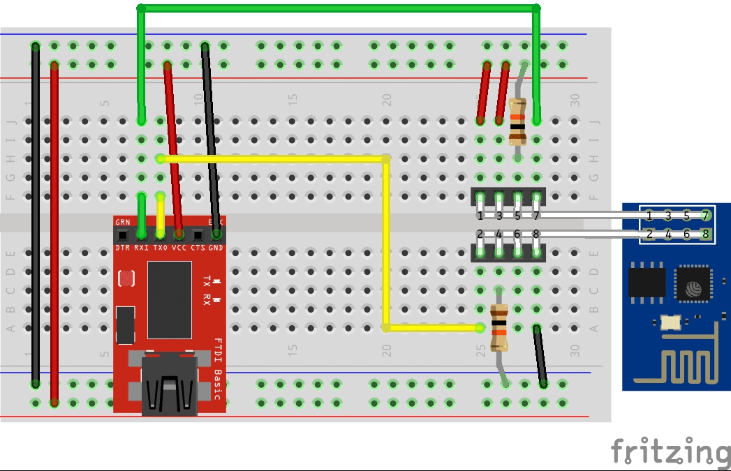 IoT with ESP8266 - Part 2: Flashing | Mono Software