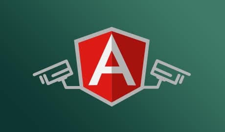 Security in an AngularJS application